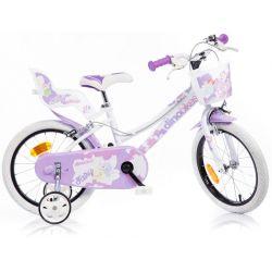 """Bicicletă pentru copii Dino 166RSN 16 """""""