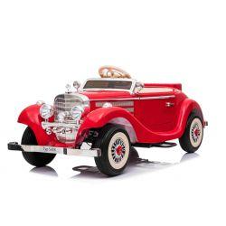 Mașină electrică Mercedes-Benz 540K 4x4 roșu, volan pentru adulți, 4x4, baterie 12V14AH, roți EVA, scaun tapițat, 2.4 GHz DO, MP3 Player, USB, Bluetooth, licență originală