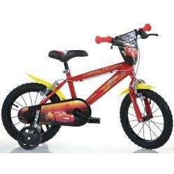 """Bicicletă pentru copii  Dino 416UCS3 16"""" Cars 3"""
