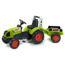 FALK Tractor cu pedale 1040AB Claas Arion 430 cu remorcă