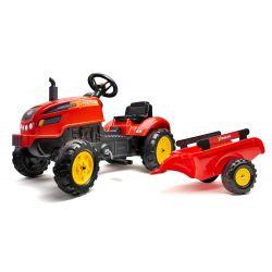 FALK 2046AB Tractor cu pedale X-Tractor cu capotă și hota de deschidere