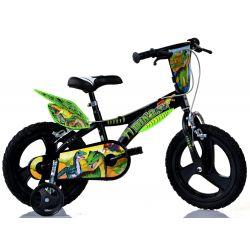"Biciclete DINO - bicicleta pentru copii 14 ""Dino 614LDS T Rex"