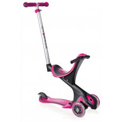 Scooter Globber GO-UP COMFORT Pink Deep