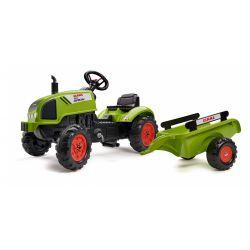 FALK 2041C Claas Arion pedala tractor cu siding și deschidere capota