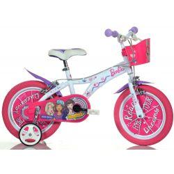 """DINO Bikes - Bicicletă pentru copii - 14"""" 614GBA - Barbie 2018"""