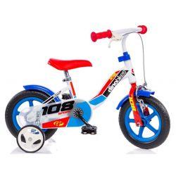 """DINO Bikes - Bicicletă pentru copii 10"""" 108FLB - Boy 2017"""