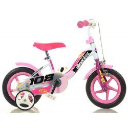 "DINO Bikes - Bicicletă pentru copii 10"" 108FLG - Girl 2017"