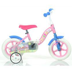"DINO Bikes - Bicicletă pentru copii 10"" 108L -  Pepa Pig 2017"