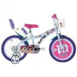 """Biciclete DINO - Biciclete pentru copii 6 """"616GLOL - LOL SURPRISE"""