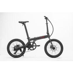 Hoobike Bicicletă electrică pliabilă, 250 W, 36V 5,2Ah Litiu - Ion, roți 40 cm, frâne cu disc, greutate 14 kg