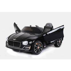 Masina electrica Bentley EXP 12 Prototip, 12 V, 2.4 GHz, ușile se deschid, roți EVA, scaun din piele, 2X MOTOR, negru, licență ORGINALĂ