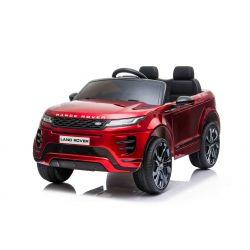 Mașină electrică pentru copii Range Rover EVOQUE, Vopsit, Roșu, Scaun din piele, MP3 player cu intrare USB, unitate 4x4, baterie 12V10Ah, Roți EVA, suspensii spate, pornire din cheie, telecomandă Bluetooth de 2,4 GHz, licențiată