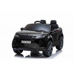Mașină electrică pentru copii Range Rover EVOQUE, Negru, Scaun din piele, MP3 player cu intrare USB, unitate 4x4, baterie 12V10Ah, Roți EVA, suspensii spate, pornire din cheie, telecomandă Bluetooth de 2,4 GHz, licențiată