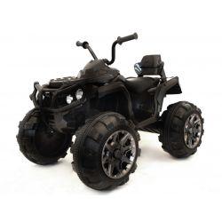 Mașinuță electrică pentru copiiQuad Hero 12 V, roți ușoare EVA,  Telecomandă 2.4 Ghz, scaun din piele, suspensii,  baterie 12V7Ah