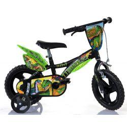 """Biciclete DINO - Bicicletă pentru copii 12 """"Dino 612LDS T Rex"""